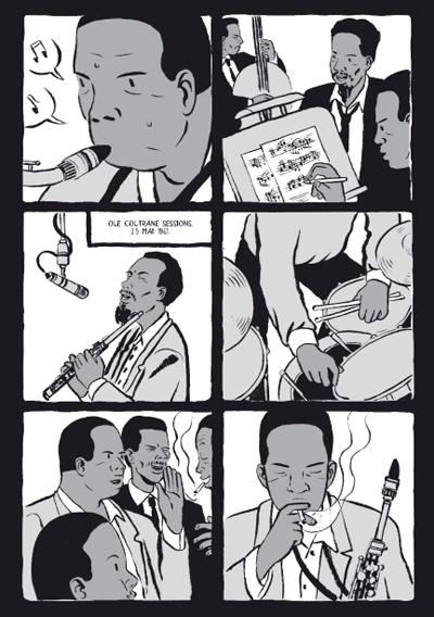Coltrane viñetas