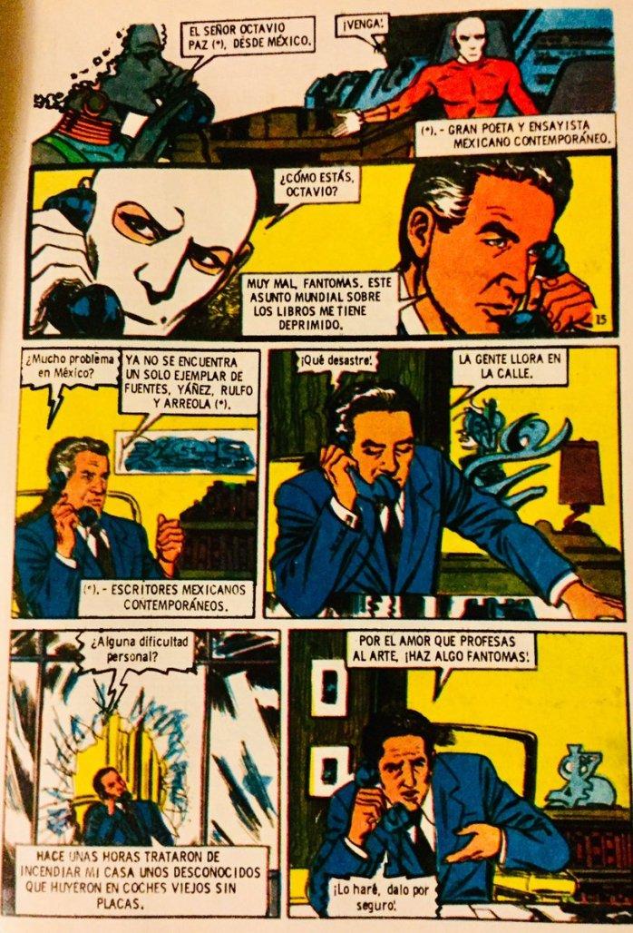 Fantomas por Julio Cortázar