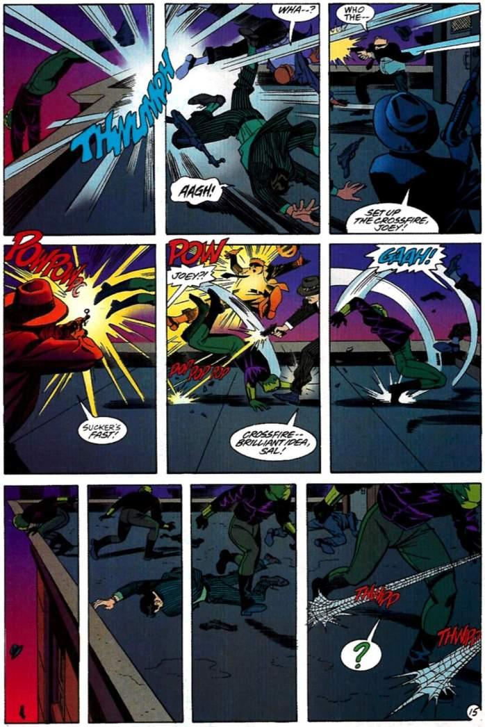 Eel en Spider-Man Lifeline Steve Rude