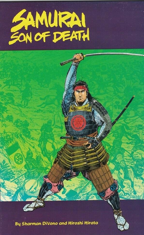 Samurai Son of Death Hiroshi Hirata portada