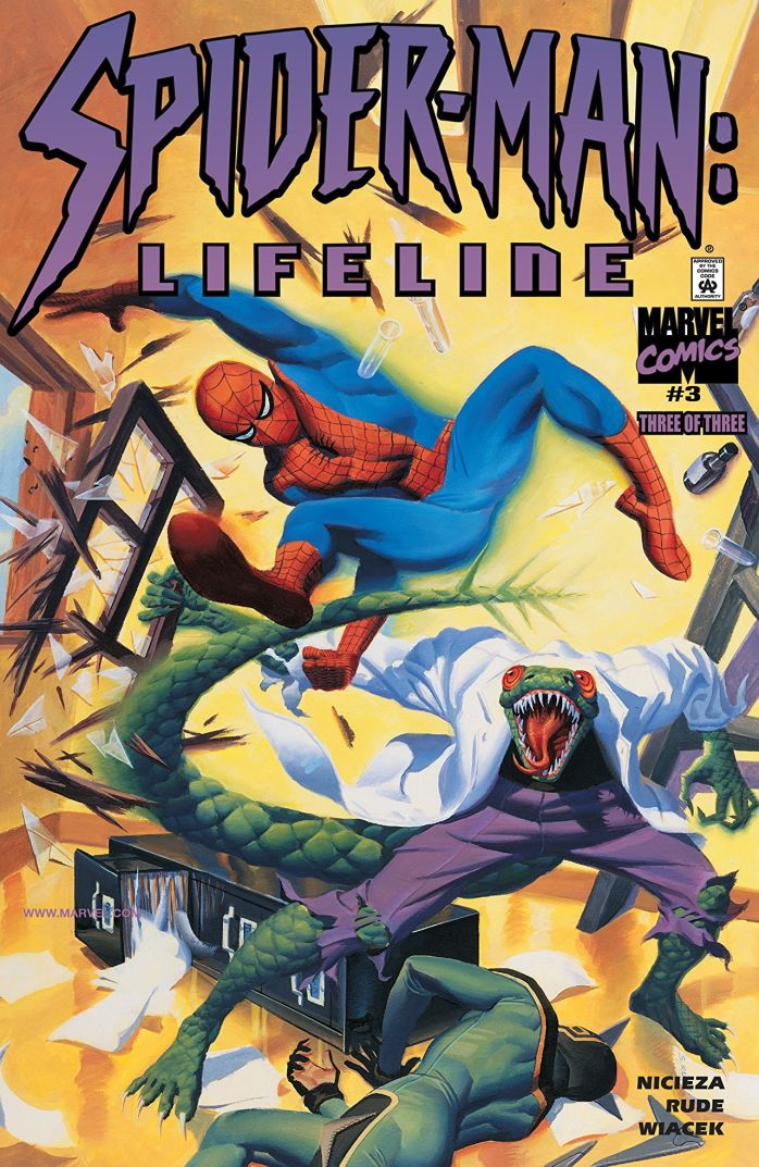 Spider-Man Lifeline portada