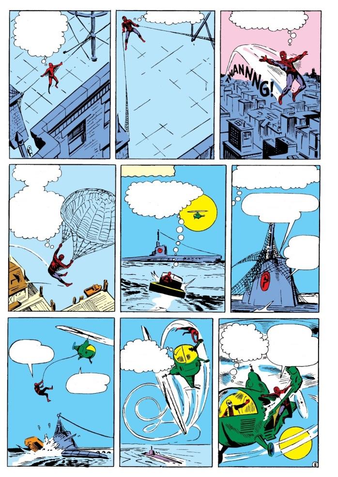 Steve Ditko Amazing Spider-Man 1