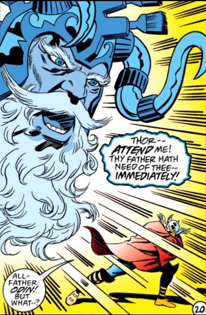 Thor Godstorm Odin