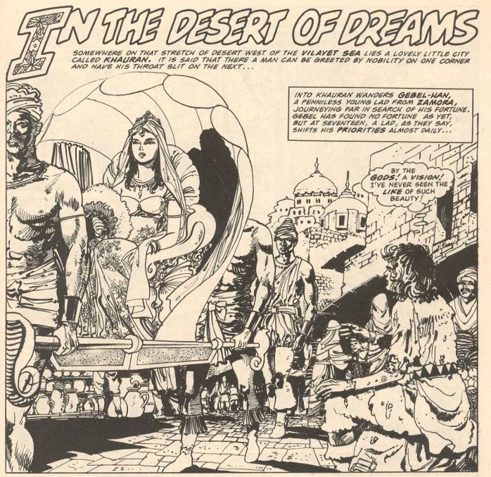 Baron Yoshimoto In the Desert of Dreams