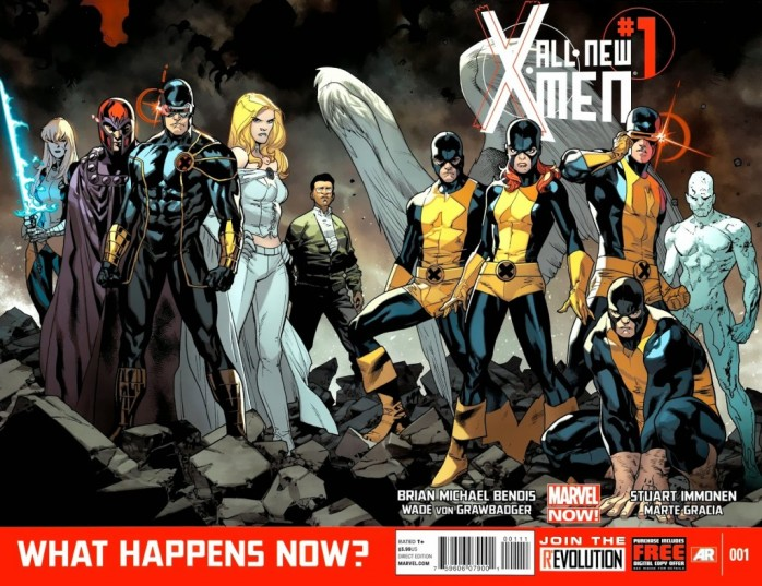 All-New X-Men Marvel Now