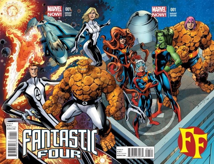 Fantastic Four Marvel Now