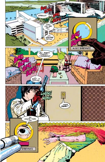 Howard Chaykin narrativa The Shadow