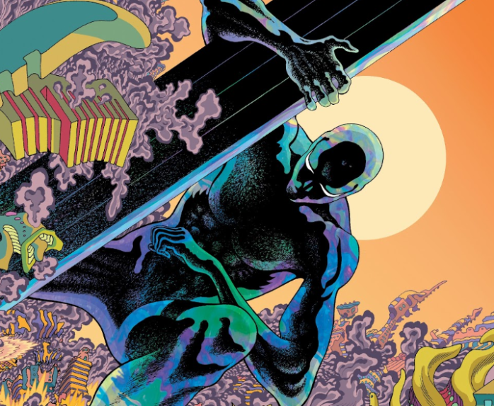 Tradd Moore Donny Cates Silver Surfer