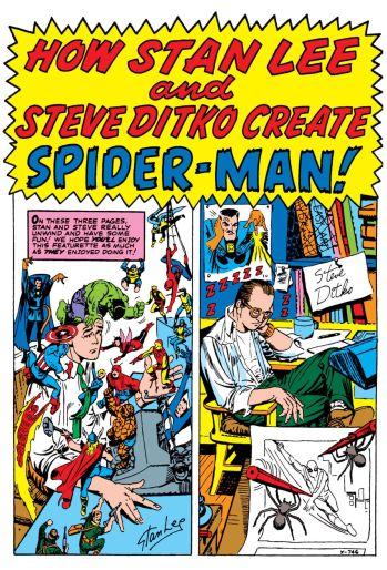 Stan Lee Steve Ditko