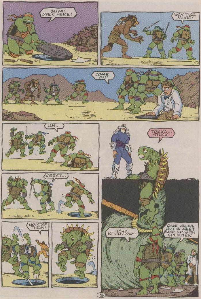 Tortugas Ninjas II