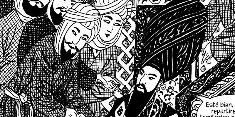 Los Jinetes por Alcatena y Mazzitelli editado por Loco Rabia