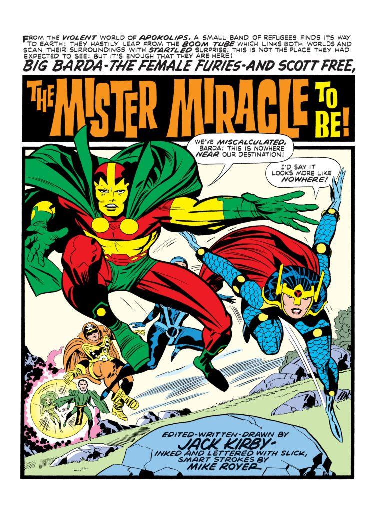 Mister Miracle Big Barda Jack Kirby